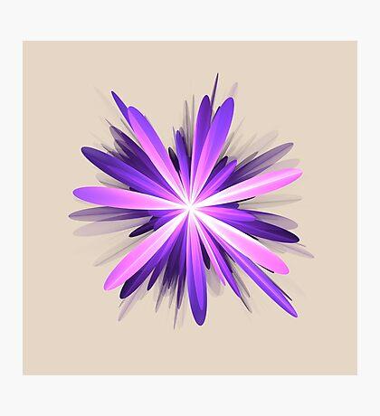Flower blast #fractal art Photographic Print