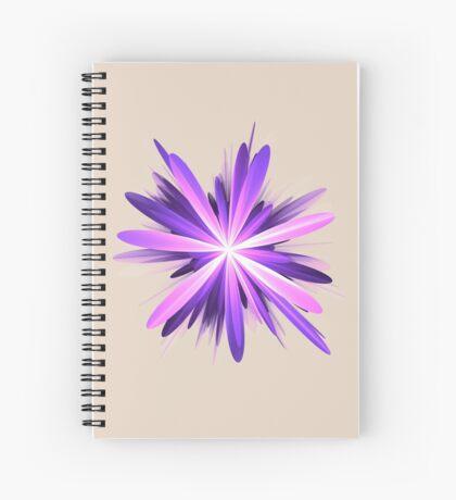 Flower blast #fractal art Spiral Notebook