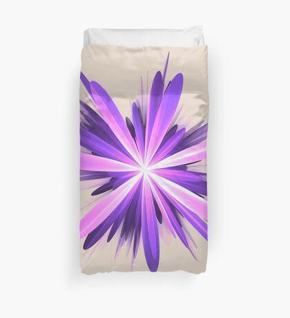 Flower blast #fractal art Duvet Cover