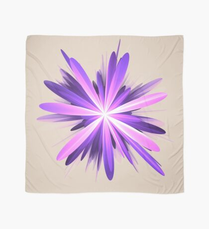 Flower blast #fractal art Scarf