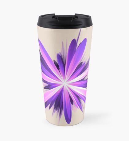 Flower blast #fractal art Travel Mug
