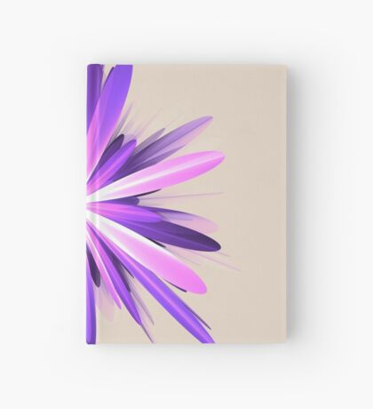 Flower blast #fractal art Hardcover Journal