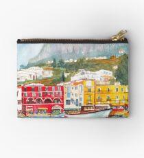 Port of Capri, Italy Studio Pouch