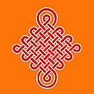 Chinese Lucky Knot by DejaLulu