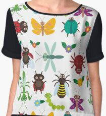 Insects Women's Chiffon Top