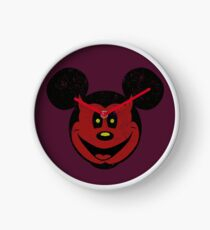 Devil Mickey Clock