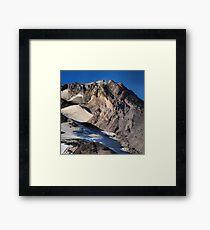 Mt. Hood Crown Framed Print