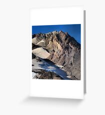 Mt. Hood Crown Greeting Card