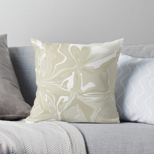 Soft and pretty Throw Pillow