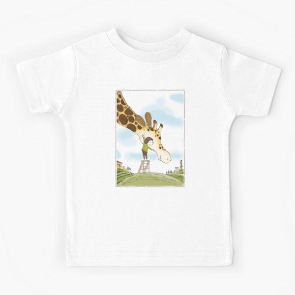 My Dad is a Giraffe - first illustration Kids T-Shirt