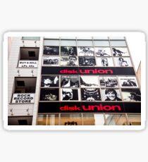 Disk Union records shop, Shinjuku, Tokyo, Japan Sticker