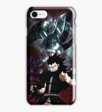 Gajeel- the iron dragon slayer iPhone Case/Skin