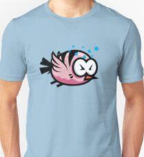Tired Cute Bird Unisex T-Shirt