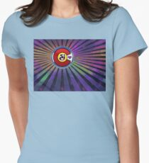 String Cheese Incident Colorado Love Psychedelic Galaxy Womens Fitted T-Shirt