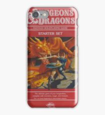 Dungeon Dragon Red Box iPhone Case/Skin