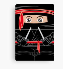 Ninja Warrior Canvas Print