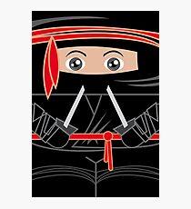 Ninja Warrior Photographic Print