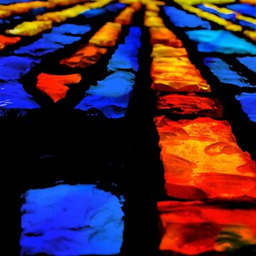 The Stained Glass Bricks by Klay70