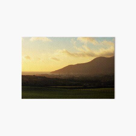 Sunrise Over Newcastle, County Down, Northern Ireland Art Board Print