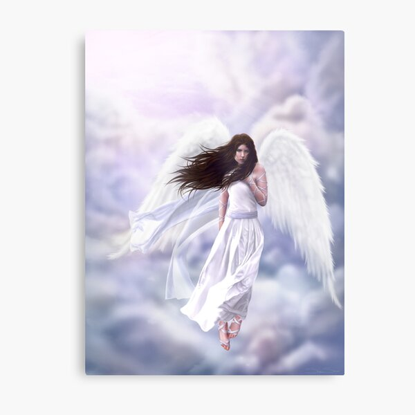 Some Clouds Have Wings Metal Print