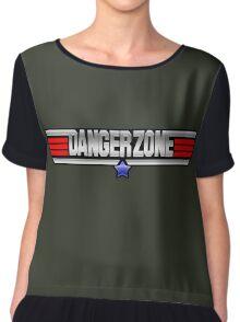 Danger Zone Chiffon Top