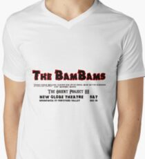 The BamBams T2 Mens V-Neck T-Shirt