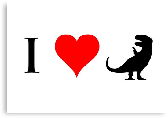I Love Dinosaurs (small) by jezkemp