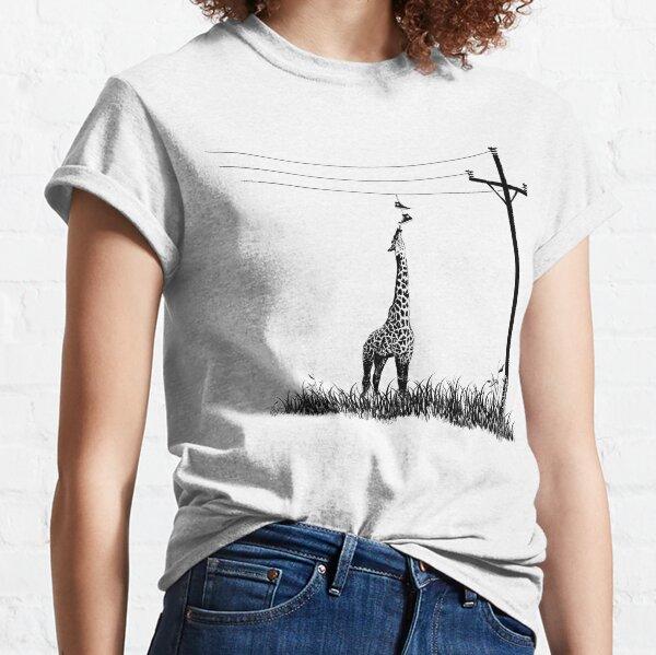 Hungrige hungrige Giraffe von Decibel Clothing Classic T-Shirt