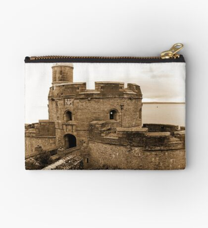 St. Mawes Castle Zipper Pouch