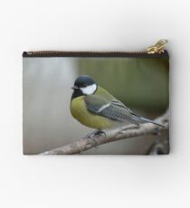 Great tit Studio Pouch