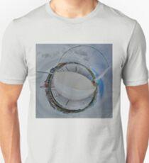 Peace Bridge Panorama - River Foyle, Derry Unisex T-Shirt
