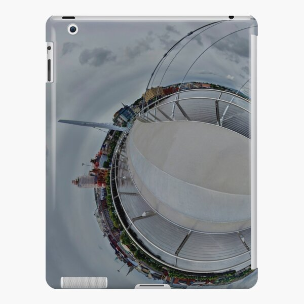 Peace Bridge Panorama - River Foyle, Derry iPad Snap Case