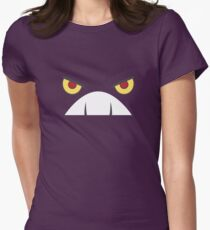 Poison Fangs Womens Fitted T-Shirt