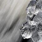 16.11.2016: Ice Figure in the Rapids by Petri Volanen