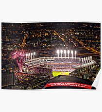 World Series Game 7 Cubs vs Indians Poster