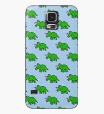 Netter Triceratops Hülle & Klebefolie für Samsung Galaxy