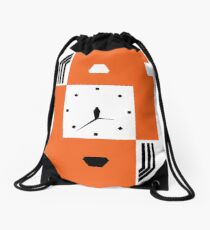 Brutalist Life Cycle Drawstring Bag