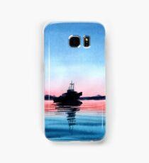 watercolor sea Samsung Galaxy Case/Skin