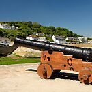 Harbour Gun, Porhtleven by Rod Johnson