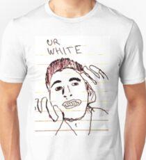 you're white T-Shirt