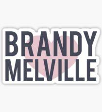 brandy melville sticker Sticker