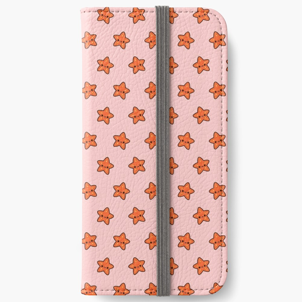 Cute starfish iPhone Wallet