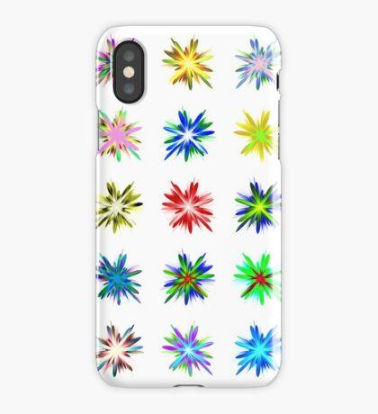 Flower blast structured chaos #fractal art iPhone Case