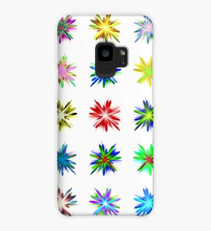 Flower blast structured chaos #fractal art Case/Skin for Samsung Galaxy