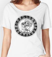 Mesoamerica - calendar bw Women's Relaxed Fit T-Shirt