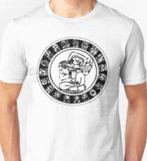 Mesoamerica - calendar bw Unisex T-Shirt