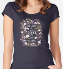 Coffee & Concealer – Spring Palette Women's Fitted Scoop T-Shirt