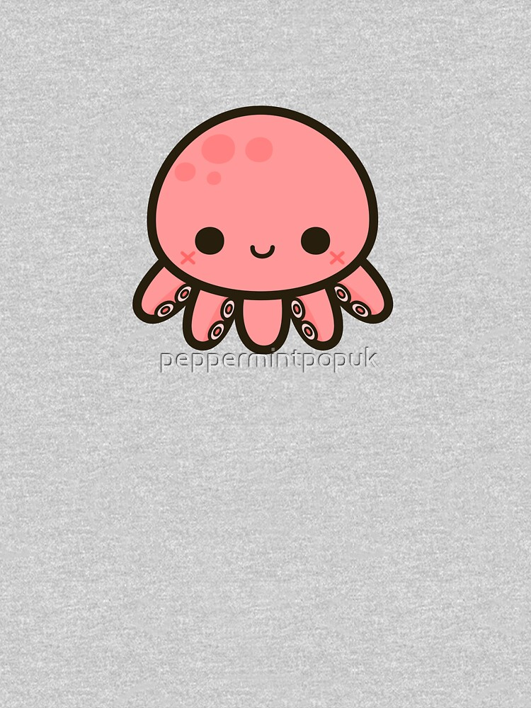 Cute octopus by peppermintpopuk