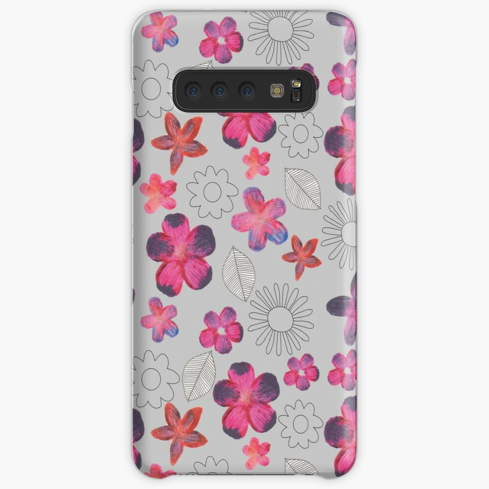 Watercolour Floral Pattern Cases & Skins for Samsung Galaxy