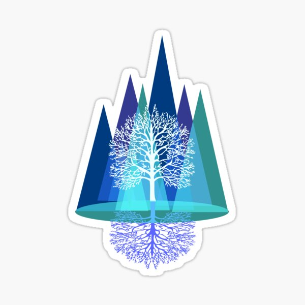 Nature's Reign  Sticker